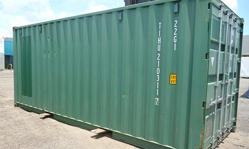 20ft HC/PW High Cube  2 Pallet Wide