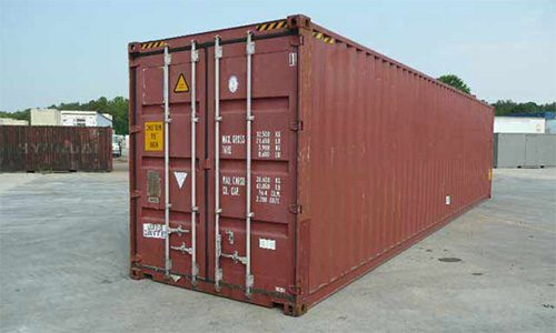 40ft HC/ PW - High Cube  ​2 Pallet Wide